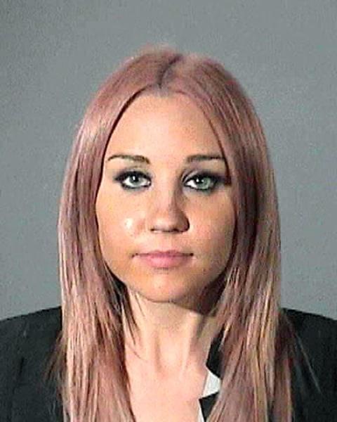 Celebrity mugshots 2012