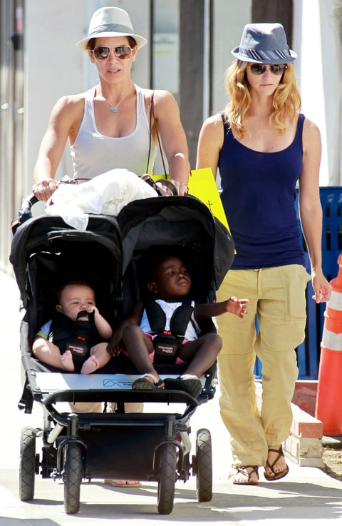 Jillian Michaels Baby Bump Phoenix and Lukensia M...