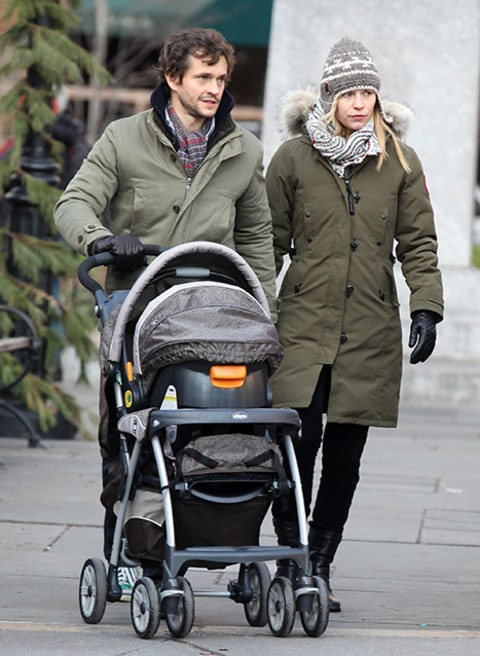 Claire Danes, Hugh Dancy Step Out With Baby Son Cyrus One ...