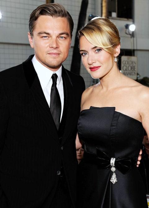 Leonardo DiCaprio Walked Kate Winslet Down the Aisle at ... Leonardo Dicaprio And Kate Winslet