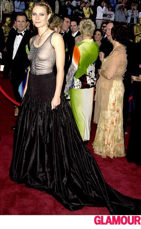 """Gwyneth Paltrow on Her 2002 Oscars Dress: """"I Should Have ...  Gwyneth Paltrow..."""