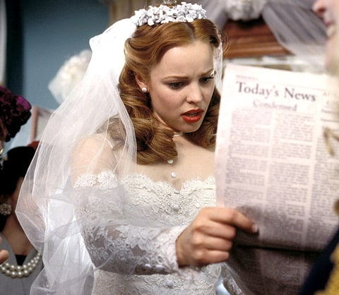 Rachel McAdams | Celebrity Wedding Dresses: TV & Movies ...