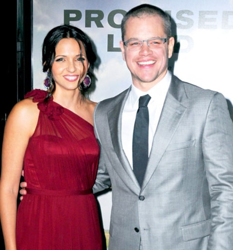 Matt Damon Vow Renewal...