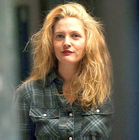 Drew Barrymore Blonde drew barrymore goes back to blonde after five ...  Drew Barrymore