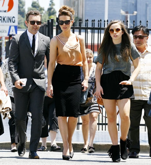 Michael Sheen, ex-wife Kate Beckinsale, and daughter Lily ... Kate Beckinsale Daughter