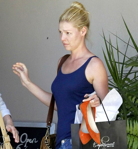 Katherine Heigl No Makeup Picture In New Orleans Us Weekly