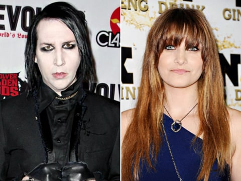 Marilyn Manson and Paris Jackson
