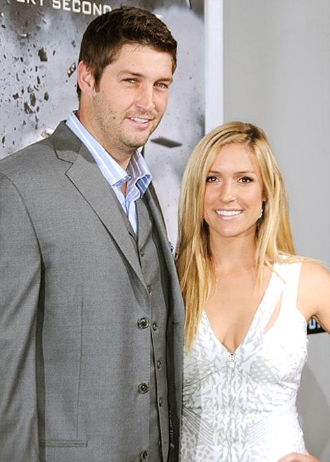 Jay Cutler and Kristin...