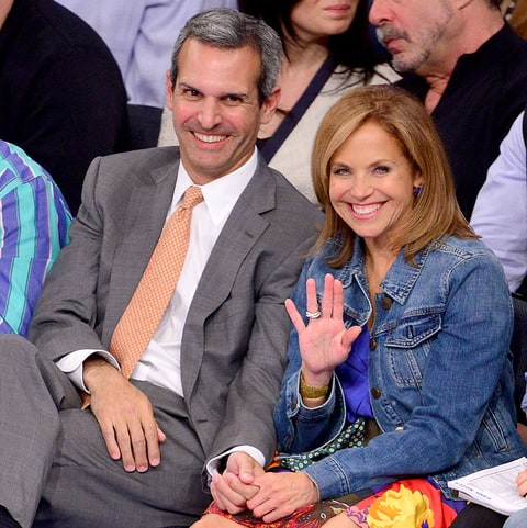 who is katie couric dating now 2012