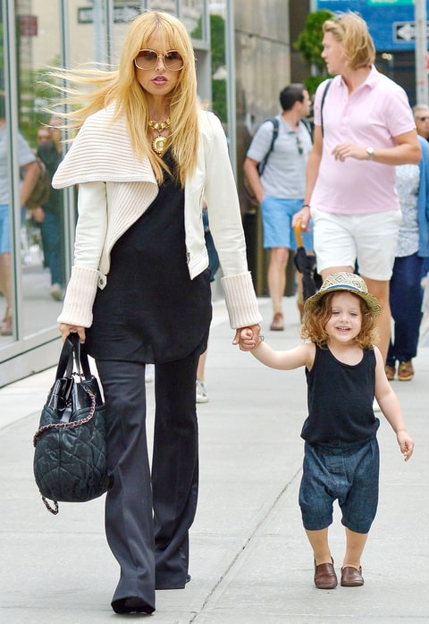 Rachel Zoe Pregnant: Son Skyler Not Eager to Share With ...