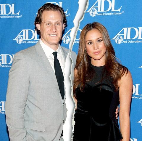 Former couple; Meghan Markle and Trevor Engelson