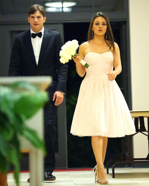 Mila Kunis Took Ashton Kutcher To Her Brother's Wedding In