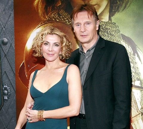Liam neeson says bono helped sons after natasha richardson for Natasha richardson and liam neeson