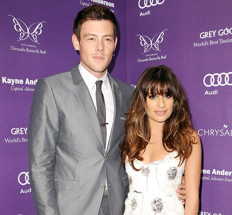 Lea Michele in Glamour: Cory Monteith and I Talked About ...