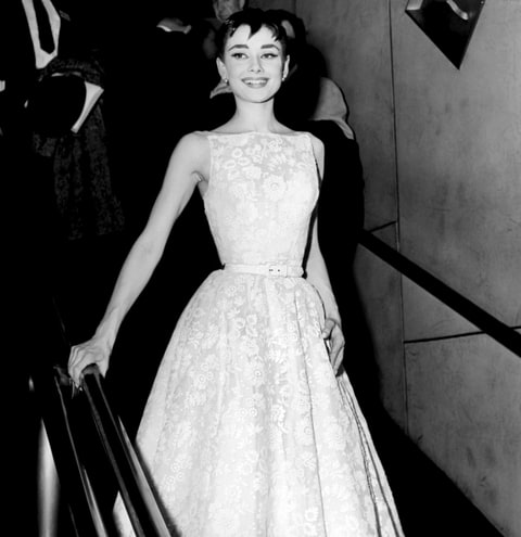 audrey hepburn oscars best dresses of all time us weekly