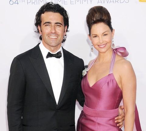 Ashley Judd and husband