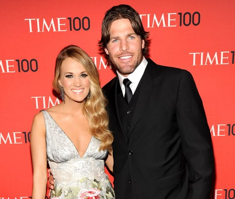 Carrie underwood husband mike fisher talk marriage for Carrie underwood husband mike fisher