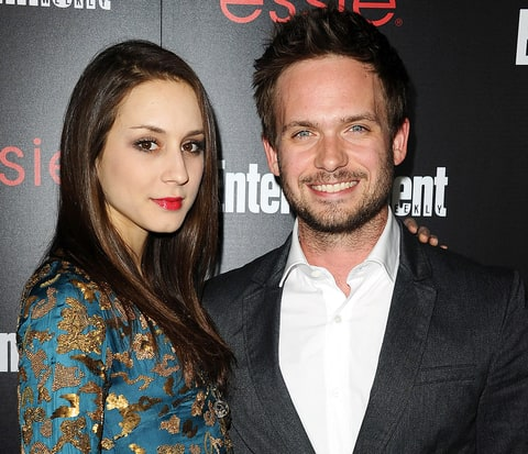 Troian Bellisario and fiance