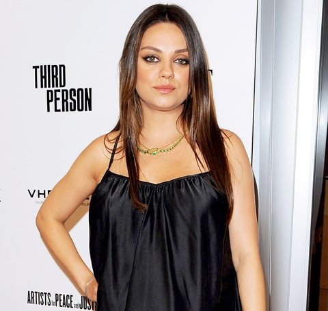 Mila Kunis Gives Cold Interview: Pregnant Star