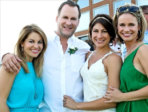 Full House Cast at Dave Coulier's Wedding to Melissa Bring ...