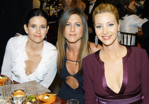 Courteney Cox reunion