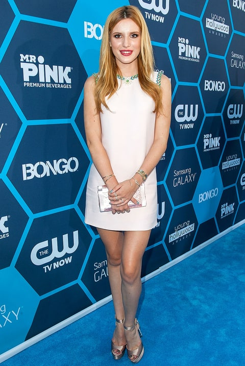 Bella Thorne in Miu Miu at the Young Hollywood Awards 2014. Credit ...