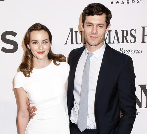 Adam Brody and wife