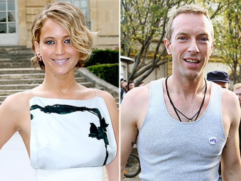 Chris Martin and Jennifer Lawrence Hot Stuff Video