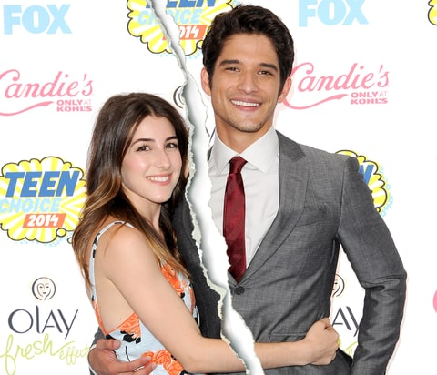 Tyler Posey and wife