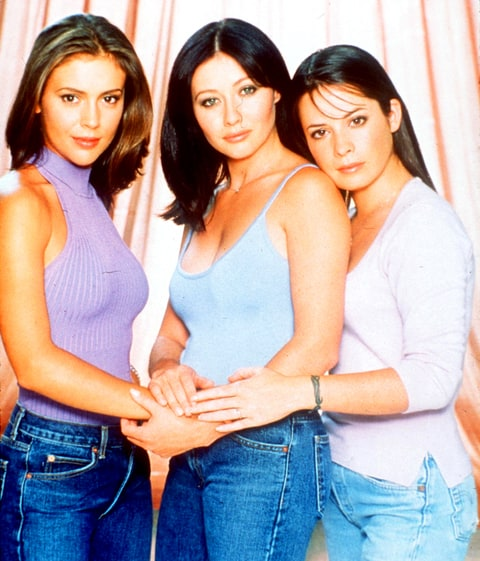 Alyssa Milano, Holly Marie Combs and Shannen Doherty