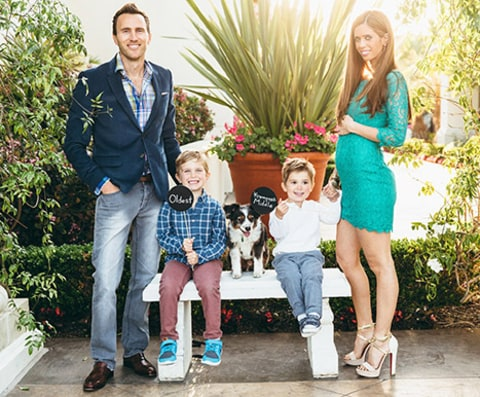 Lydia McLaughlin and family