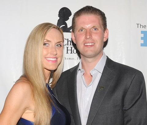 Donald Trump's Son Eric Marries Lara Yunaska: Wedding Details - Us ...