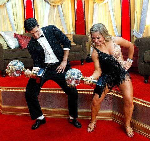Season 8 Shawn Johnson And Mark Ballas Dancing With The