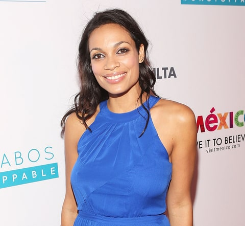 Rosario Dawson has adopted a 12-year-old daughter Credit: Jesse Grant ...