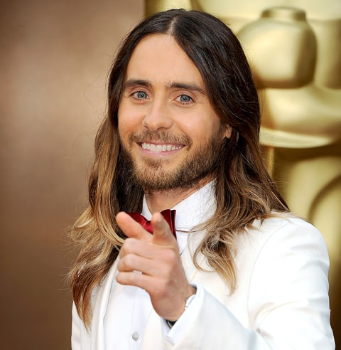 Jared Leto Portrays Menacing Joker Margot Robbie Wields Bat Ominous Trailer Suicide Squad besides Cate Blanchett Drops F Bomb Live TV Australian Win Two Oscars Acting besides Snapped Days Of Our Lives Stars Freddie Smith And Nathan Owens Pose For Noh8 C aign 84829 moreover Darren Aronofsky 5 Things To Know as well Suicide Squad Launches Character Icon Logos. on oscar winner jared leto