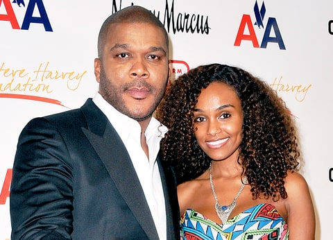 Tyler Perry with gracious, friendly, charming, Girlfriend Gelila Bekele