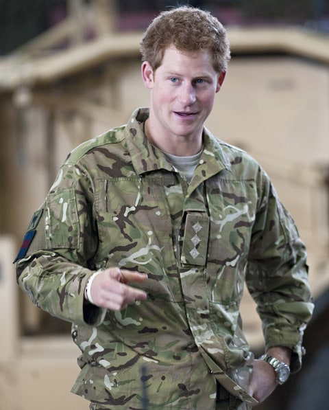 """Prince Harry, Affectionately Known As """"Captain Harry Wales"""