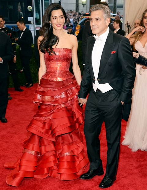 George Clooney and Amal Alamuddin made the picture-perfect ...