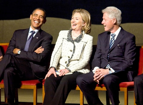 President Obama Bill Clinton Become Twitter Pals Hillary