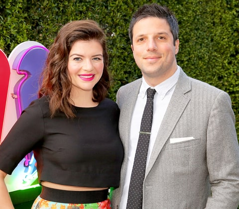 Casey Wilson and husband