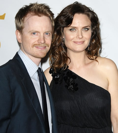 Emily Deschanel with Husband David Hornsby