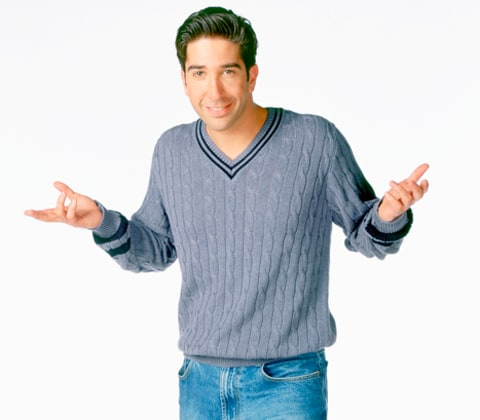David Schwimmer on Friends