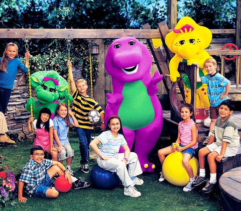 Barney Amp Friends Demi Lovato Through The Years Us Weekly