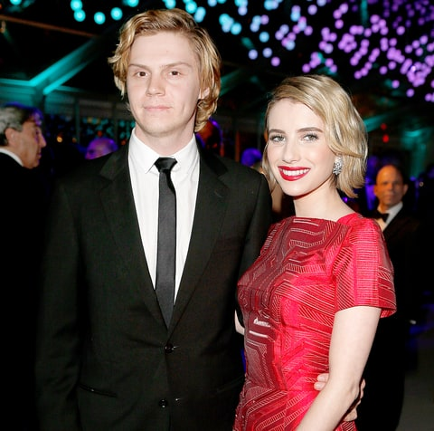 Taissa Farmiga evan peters 2015
