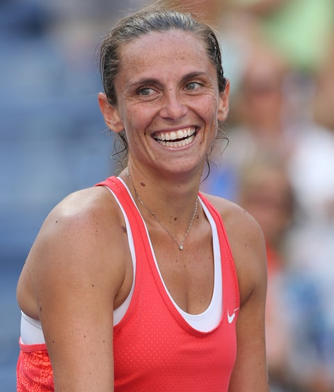 Roberta Vinci earned a  million dollar salary, leaving the net worth at 7 million in 2017