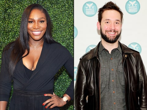 Who does serena williams date