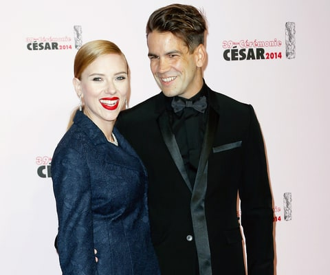scarlett johansson and romain