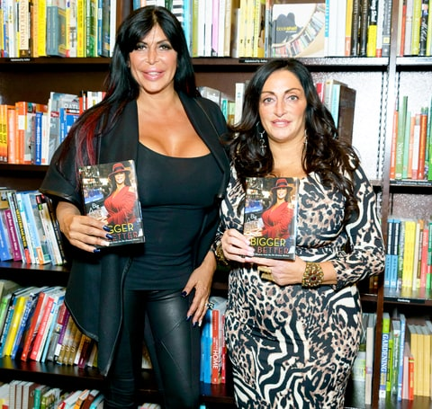 Big Ang and Janine Detore