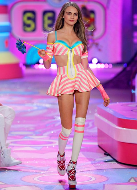Cara Delevingne Victoria's Secret Fashion Show 2012