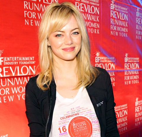 Emma Stone Wishes Sochi Olympic Athletes Good Luck